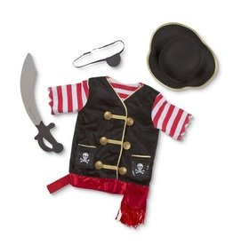 Melissa & Doug Pirate Role Play Set/ Piraat Verkleedset