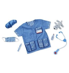 Melissa & Doug Veterinarian Role Play Set/ Dierenarts Verkleedset