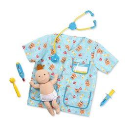 Melissa & Doug Paediatric Nurse Role Play Set/ Kinderverpleegkundige Verkleedset