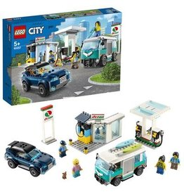 LEGO Benzinestation - City