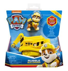 Paw Patrol Paw Patrol  basic vehicle Rubble Bulldozer