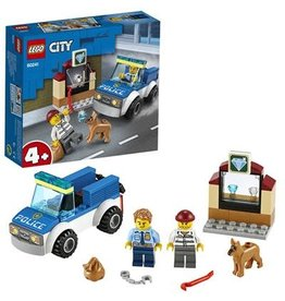 LEGO Politie hondenpatrouille - City Police dog unit