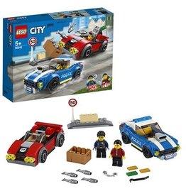LEGO Politie arrest op de snelweg - City Police highway arrest
