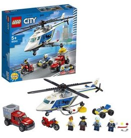 LEGO Politie helicopterachtervolging - City Police Helicopter chase