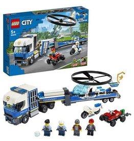 LEGO Helicoptertransport - City Police Helicopter transport