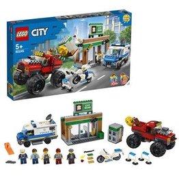 LEGO Politie monstertruck overval - City Police Monster Truck heist