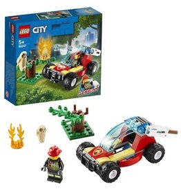 LEGO Bosbrand - City Fire forest fire