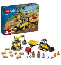 LEGO Constructiebulldozer - City Construction Bulldozer