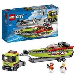 LEGO Raceboottransport - City Race Boat Transporter