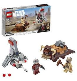LEGO T-16 Skyhopper™ vs. Bantha™ Microfighters
