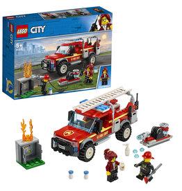 Lego City Lego City Reddingswagen Van Brandweercommandant - Fire Chief Response Truck