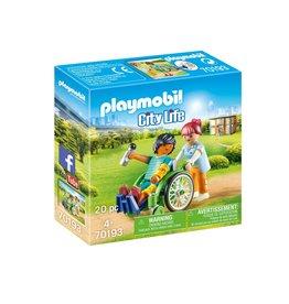 Playmobil Patiënt in rolstoel - Citylife