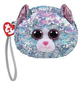 Ty Fashion Whimsey Cat Ty Fashion Portemonnee  13cm
