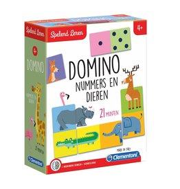 Clementoni Leerspel Dieren Domino