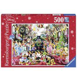 Ravensburger Wdd: De Disney Kersttrein 500St