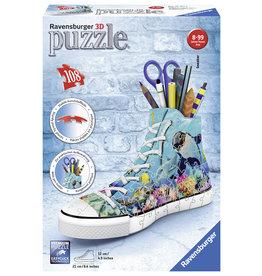Ravensburger Ravensburger 3D Puzzel 121175 Sneaker Onderwaterwereld  (108 Stukjes)