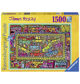 Ravensburger Ravensburger puzzel 163564 We Are On Our Way To Your Party - J Rizzi 1500 stukjes