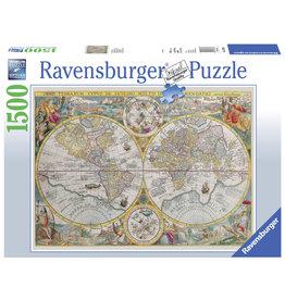 Ravensburger Ravensburger puzzel Wereldkaart 1594 - 1500 stukjes