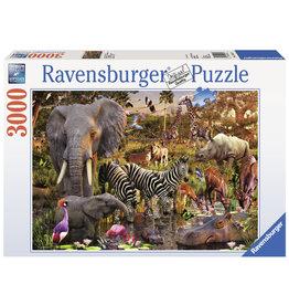 Ravensburger Ravensburger puzzel  170371 Afrikaanse Dierenwereld 3000 stukjes