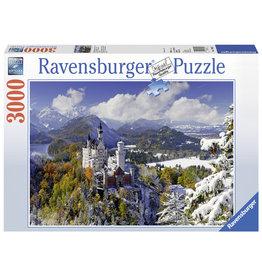 Ravensburger Ravensburger puzzel  170623  Slot Neuschwanstein In De Winter 3000 stukjes