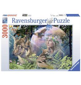Ravensburger Ravensburger puzzel 170333 Wolven in de Maneschijn 3000 stukjes