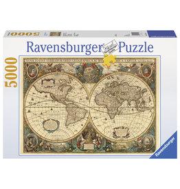 Ravensburger Ravensburger puzzel  174119Antieke Wereldkaart  5000
