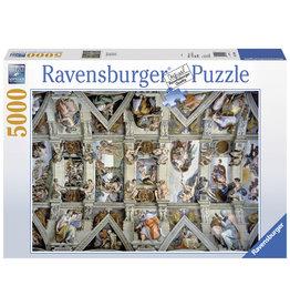 Ravensburger Ravensburger puzzel  174294  De Sixtijnse Kapel 5000 stukjes