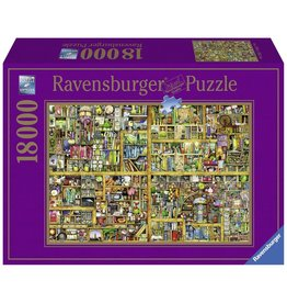 Ravensburger Ravensburger puzzel  178254  Magical Bookcase 18000 stukjes