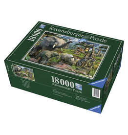 Ravensburger At The Waterhole 18000