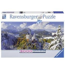 Ravensburger Ravensburger puzzel 166916  Neuschwanstein 2000  stukjes