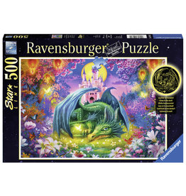 Ravensburger Dragon In The Forest 500 Star Line