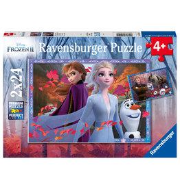 Ravensburger Ijzige Avonturen Frozen 2X24