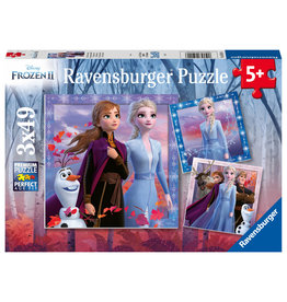 Ravensburger Frozen 2 ® Puzzle 3X49