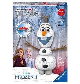 Ravensburger Ravensburger 3D Puzzel 111572 Disney Frozen 2 - Olaf  (54 Stukjes)