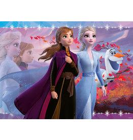 Ravensburger Ravensburger Puzzel Disney Frozen 2 - Sterke Zussen - Glitter 100 XXL