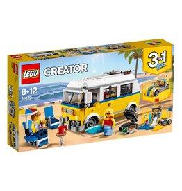 LEGO Sunshine Surfer Van - Creator 3-In-1