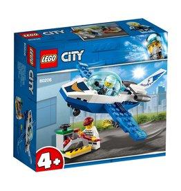 LEGO Luchtpolitie Vliegtuigpatrouille- City