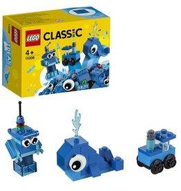 LEGO Classic Creatieve Blauwe Blokken - Creative Blue Bricks