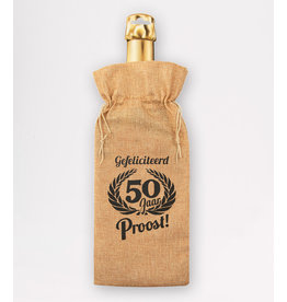 Bottle Gift Bag - 50 Jaar