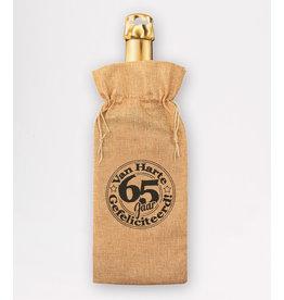 Bottle Gift Bag - 65 Jaar