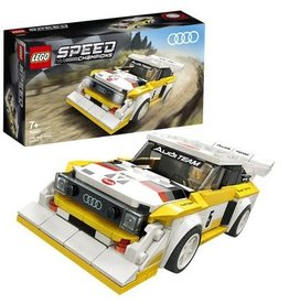 Lego Speed Champions 1985 Audi Sport Quattro S1 - Speed Champions