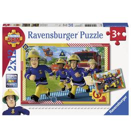 Ravensburger Brandweerman Sam: Sam En Zijn Team 2X12