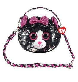 Ty Fashion Ty Fashion Schoudertas Kiki Cat  20cm