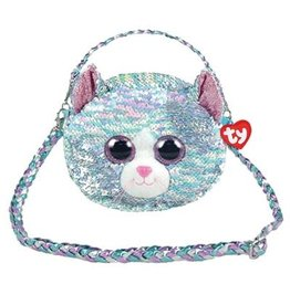 Ty Fashion Ty Fashion Schoudertas Whimsey Cat 20cm