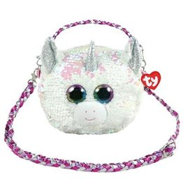 Ty Fashion Ty Fashion Schoudertas Diamond de Witte Eenhoorn 20cm