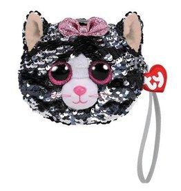 Ty Fashion Ty Fashion Portemonnee Kiki Cat 13cm