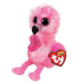Ty Valentine Dainty Flamingo - Ty Beanie Boo's 15cm