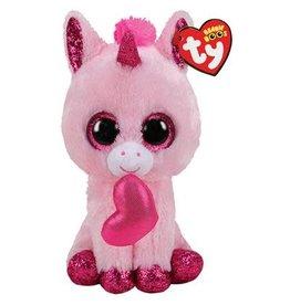 Ty Valentine Darling Unicorn - Ty Beanie Boo's 15cm