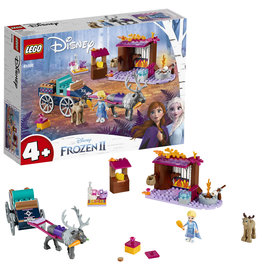 Lego  Frozen 2 LEGO WD: Elsa's ™ Koetsavontuur - Frozen 2 41166