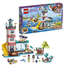 Lego Friends Friends Reddingscentrum In Vuurtoren - Lighthouse Rescue Centre - Friends